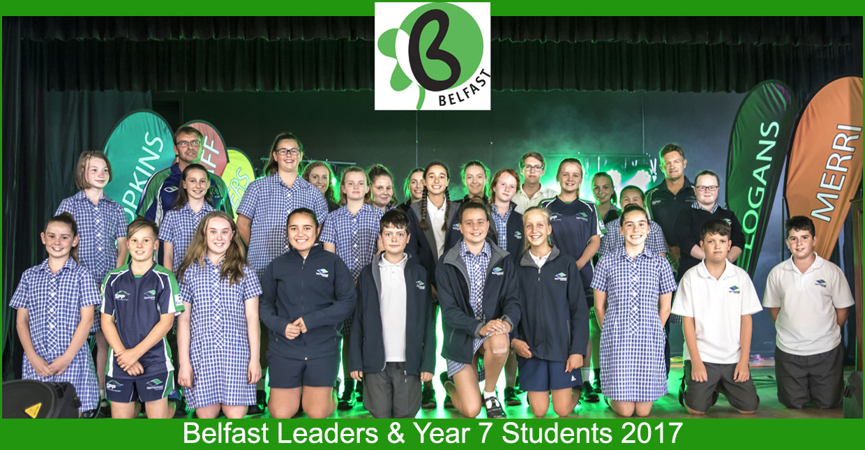 Belfast House Student Leaders