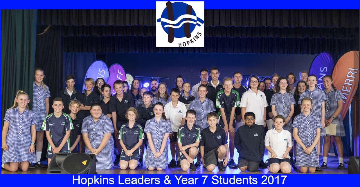 Hopkins House Student Leaders