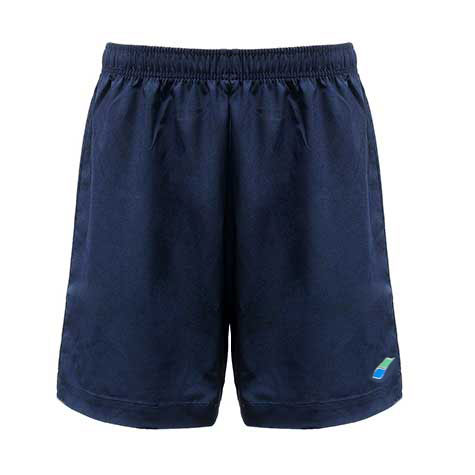 Tailored, Navy Blue, Knee Length Shorts